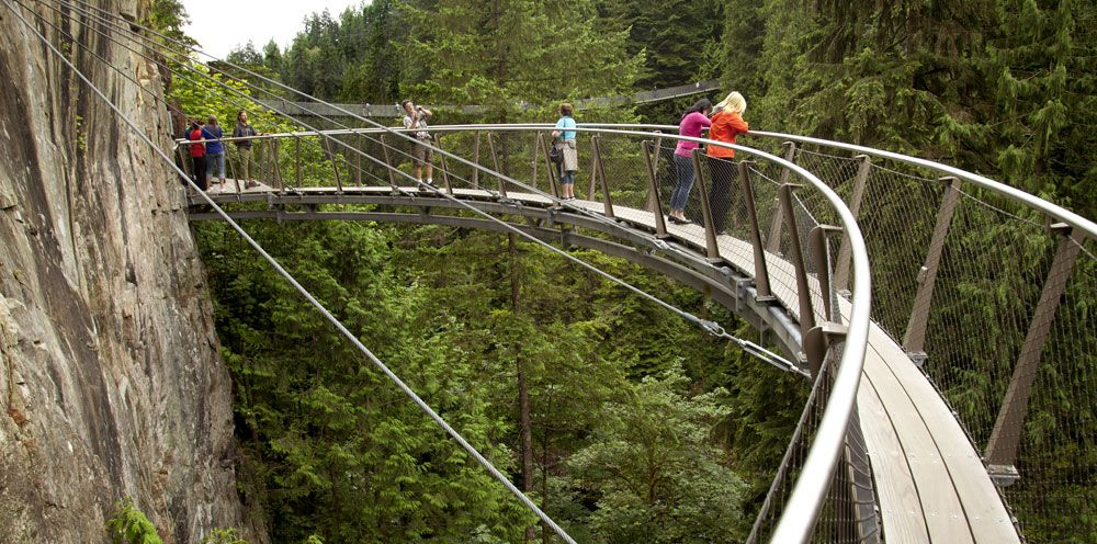 Capilano Suspension Bridge Park, Victoria, Canada