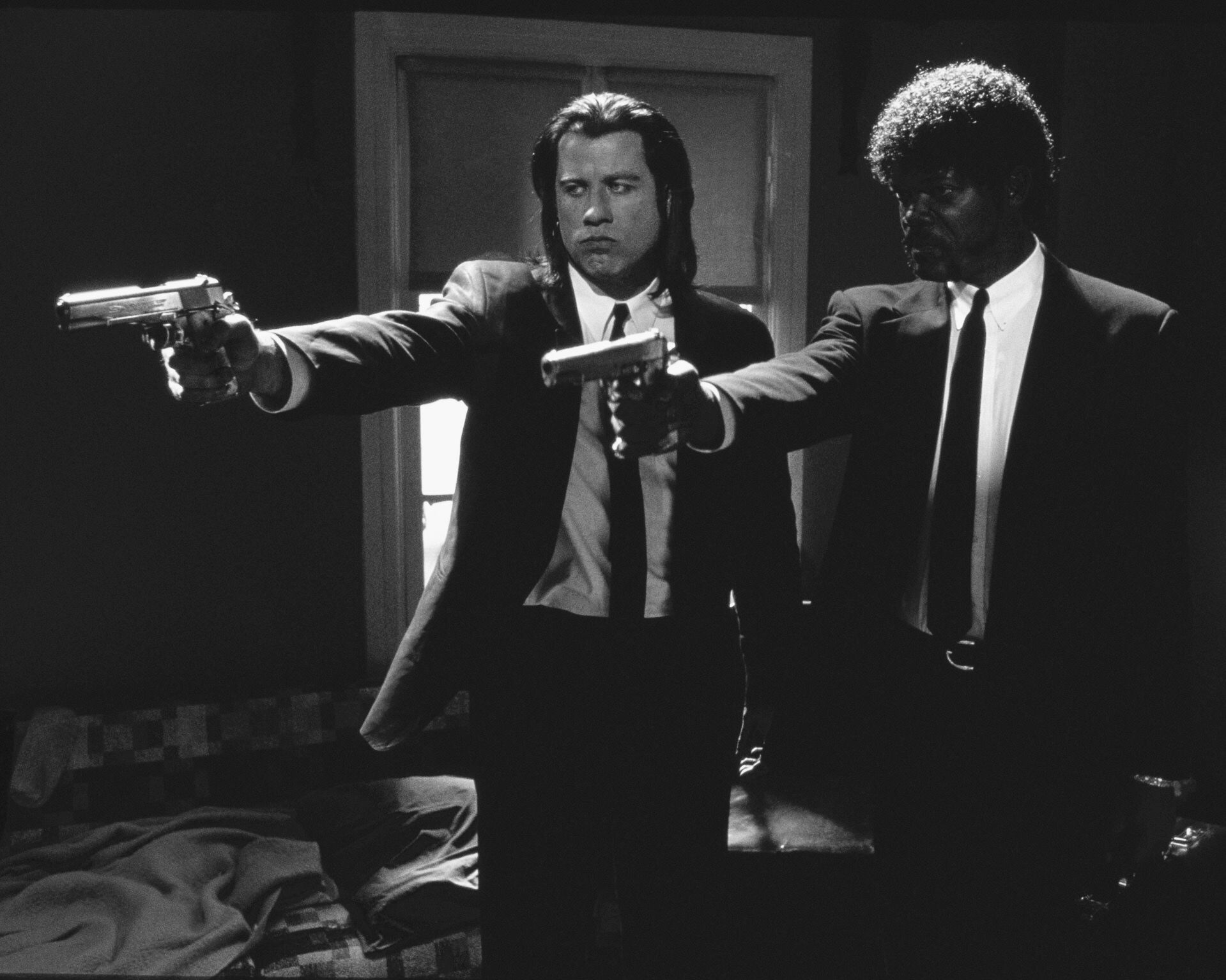 Pulp fiction Famous movie scenes, Pulp fiction, Iconic