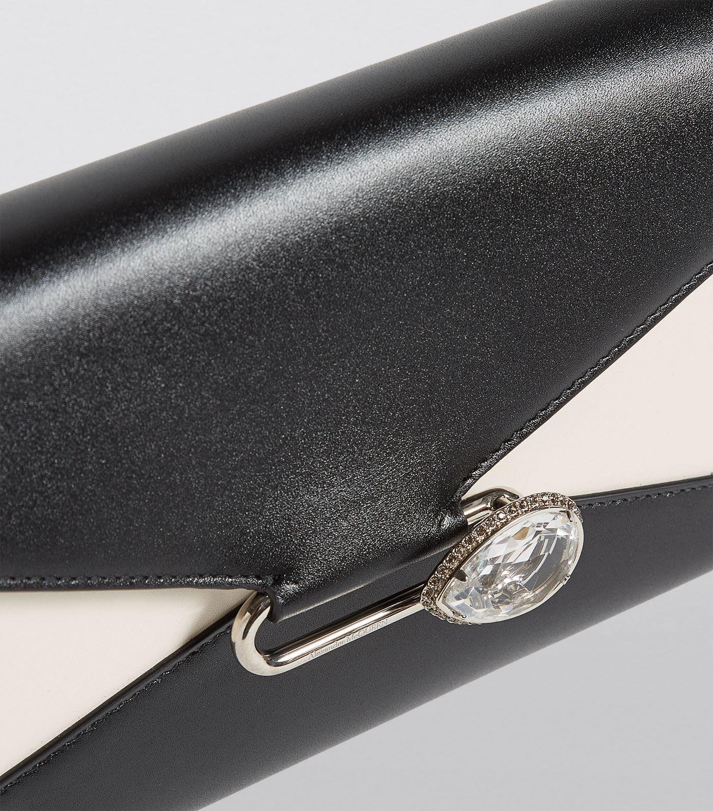 479eb8c52457 Alexander McQueen Leather Pin Wallet Bag #AD , #Sponsored, #Leather, # McQueen, #Alexander, #Bag, #Wallet