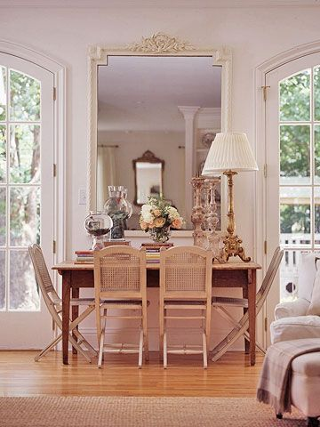 Brighten Your Space By Decorating With Mirrors Mirror Decor Unique Home Decor Home