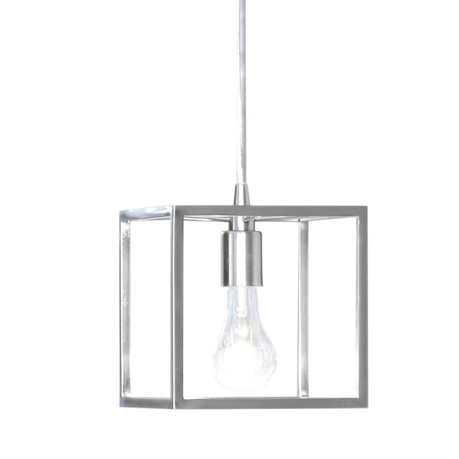 Style Selections Arctura in Brushed Nickel Mini Pendant