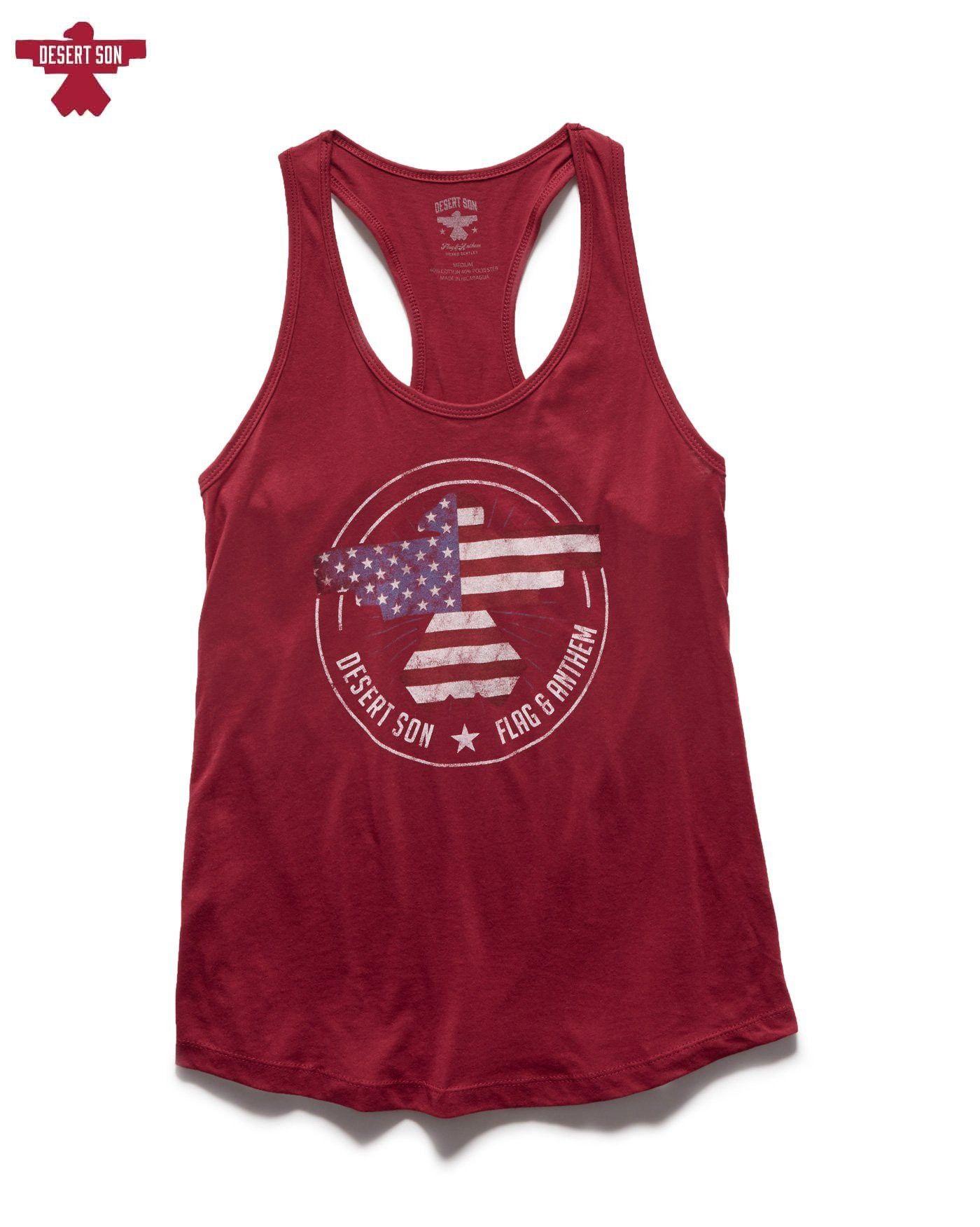 e7943a4a20be2 Flag   Anthem Freedom Riser Women s Racerback Tank - Scarlet XS ...
