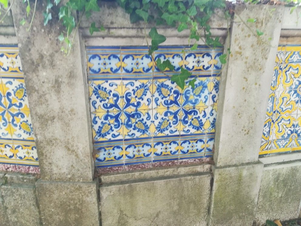 Azulejos Sintra Azulejos portugueses, Azulejos, Calçada