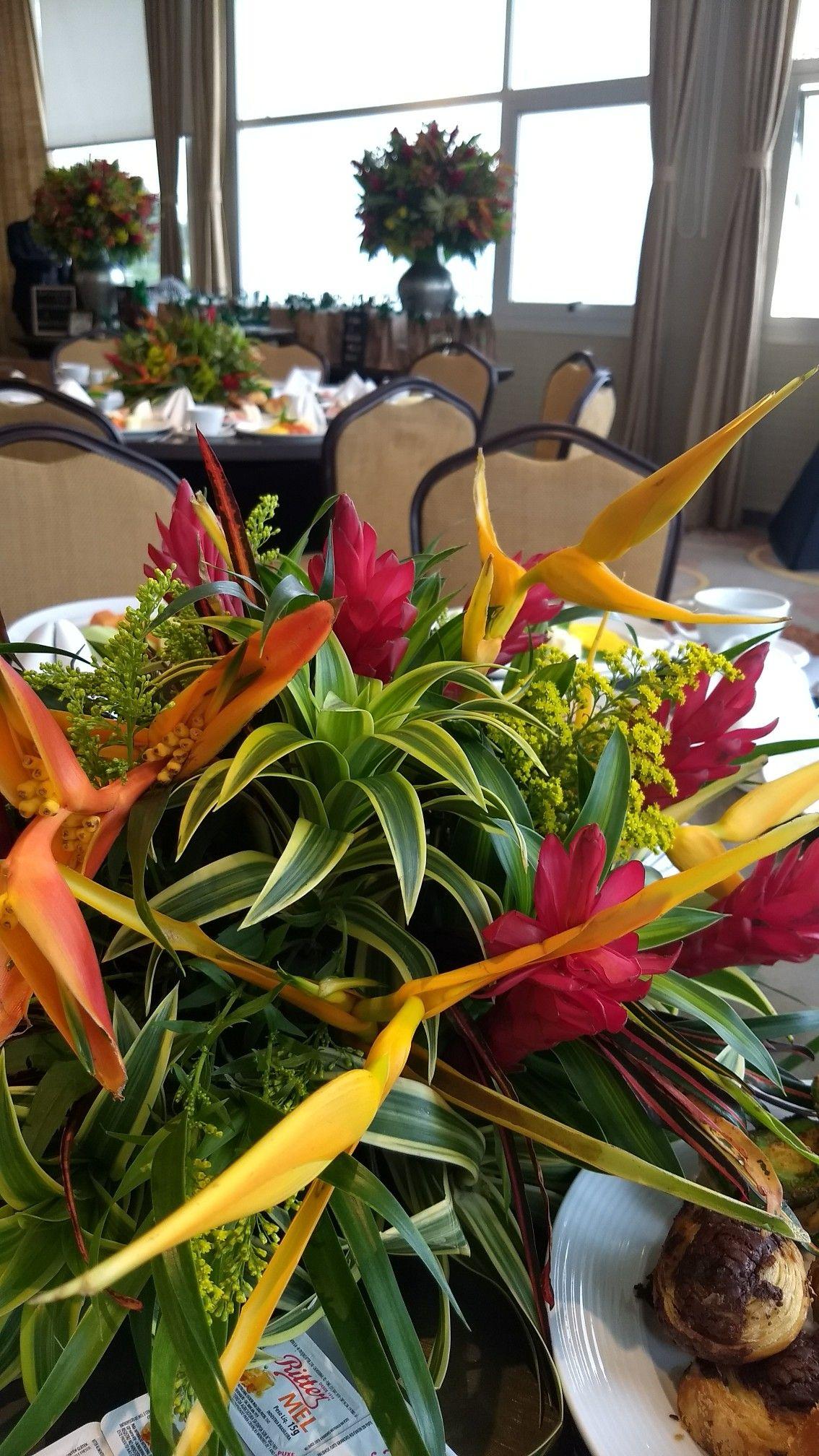 Arranjos Para Mesa Dos Convidados Flores Tropicais Arranjos Flores