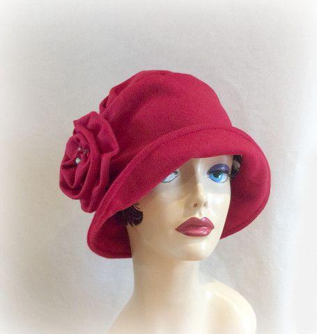 deb861c6c Women's Cloche Hat in Vintage Style, 1920's Flapper Hat, the Alice ...