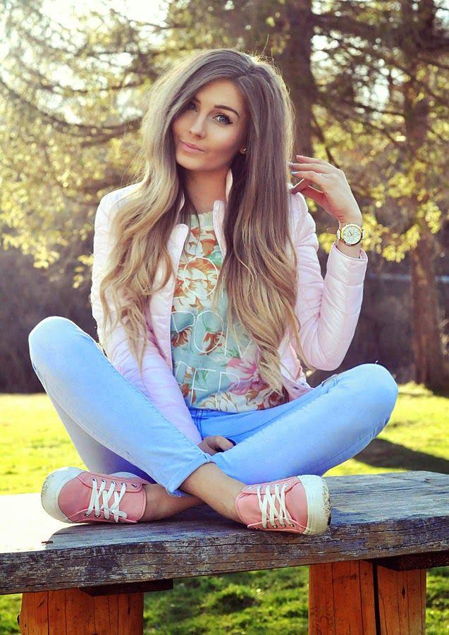 Styleev: BLUZA FLORAL & PASTELE