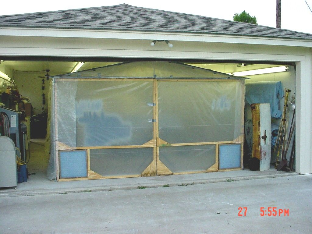 Paint Booth by A. Wendel -- Homemade paint booth ...