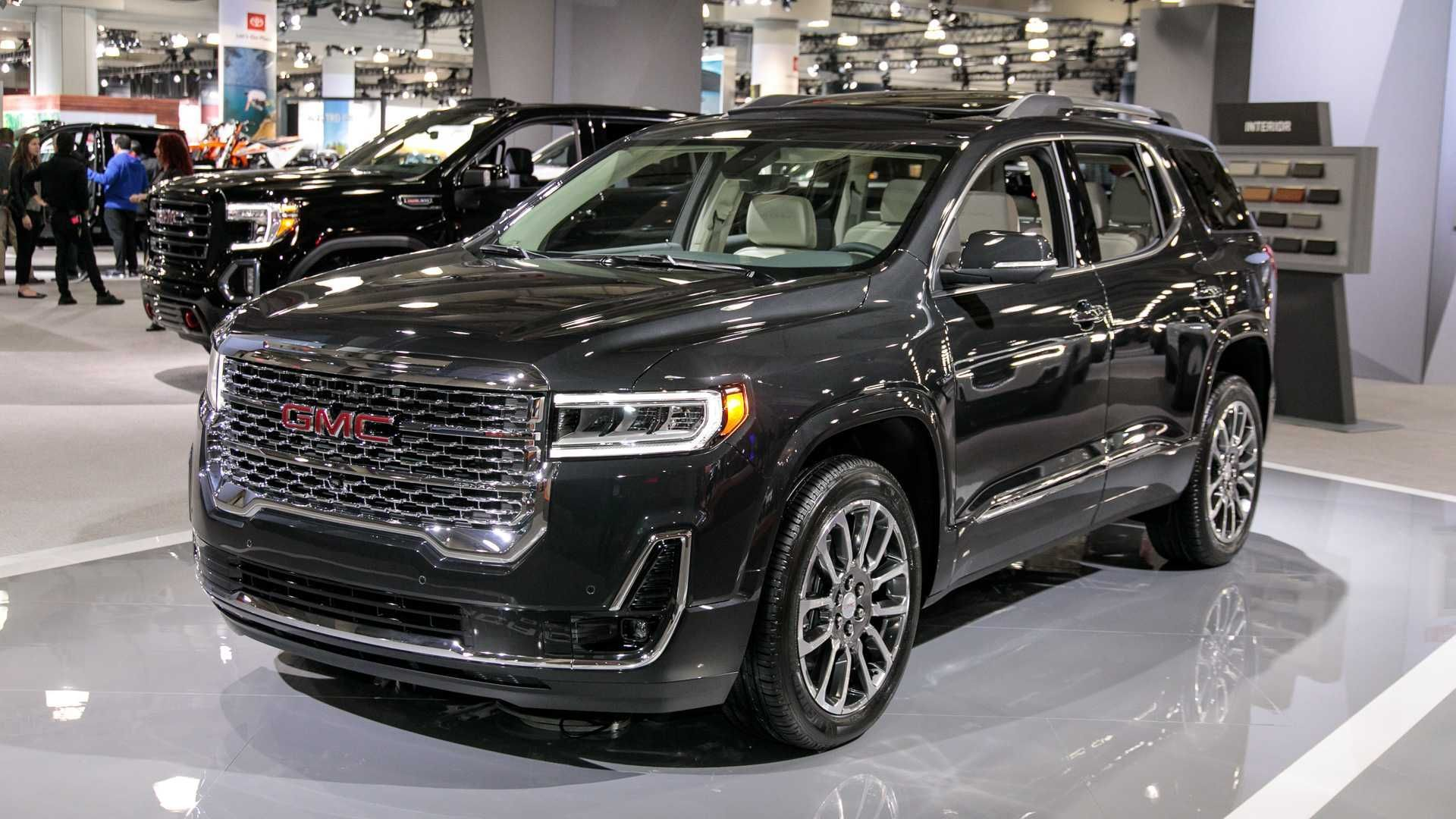 Gmc Acadia 2021 Vs 2019 Research In 2020 Suv Acadia Denali Gmc