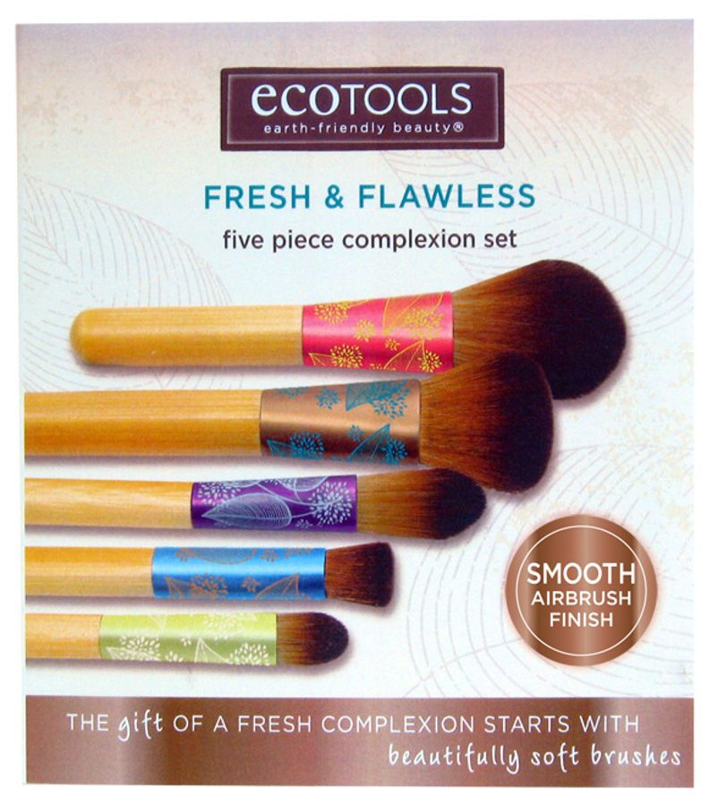 Eco Tools 5 Piece Bamboo Fresh & Flawless Complexion Brush