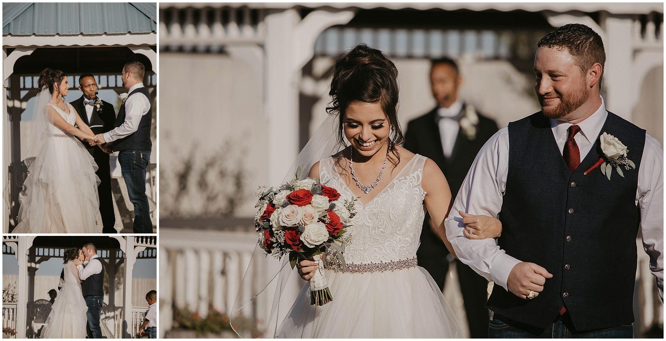 wedding ceremony, first kiss, wedding ideas, wedding