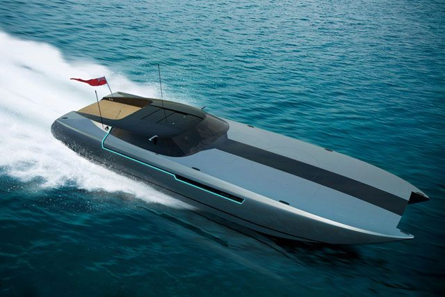 Fast And Sleek Boats Sleek And Swift The Spire Yacht 46
