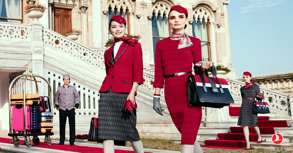 Turkish Airlines Unveils New Italian Inspired Uniforms Turkish Airlines Cabin Crew Airline Cabin Crew