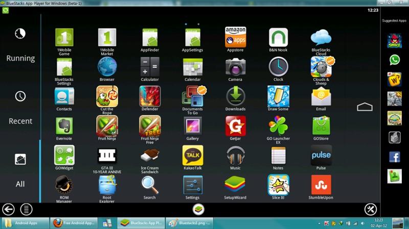 تحميل برنامج تشغيل تطبيقات الاندرويد على الكمبيوتر والاستمتاع بها من خلال البرنامج تستطيع تشغيل افضل واهم الالعاب والبرامج الخاصة Android Apps Android App