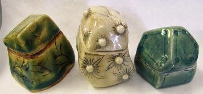 Lump Boxes Student Work Pretty Box Traditional Ceramics Clay