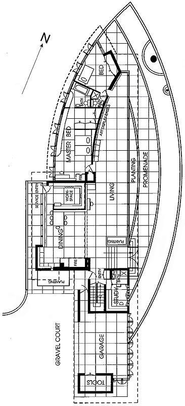 marden house mclean va 1952 59 frank lloyd wright floor plan dwg william storrer the. Black Bedroom Furniture Sets. Home Design Ideas