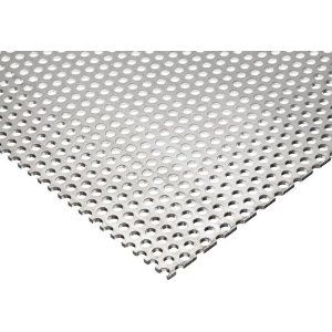 3003 Aluminum Perforated Sheet Unpolished Mill Finish Super Spring Temper Inch Staggered Perforated Metal Metal Sheet Perforated Plate
