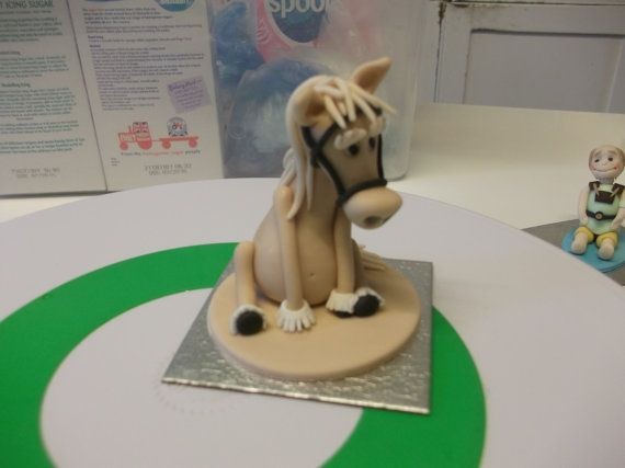Edible Horse And Riding Cake Topper By Misiescaketopper 10 99
