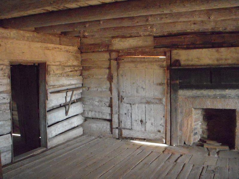 Inside An Old Log Cabin Shed Cabin Log Cabin Kits Cabin