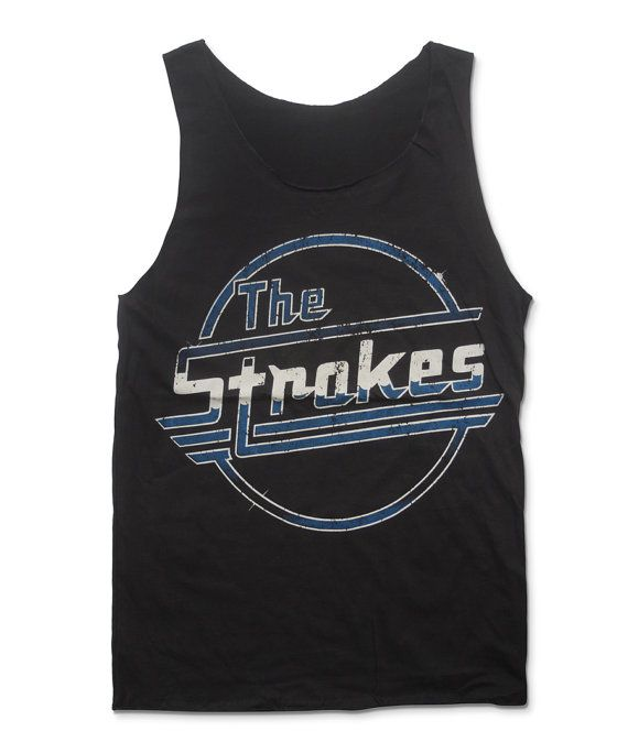 THE STROKES Tank Top NYC Garage Rock Shirt Size M by StudioMFshop, $16.99