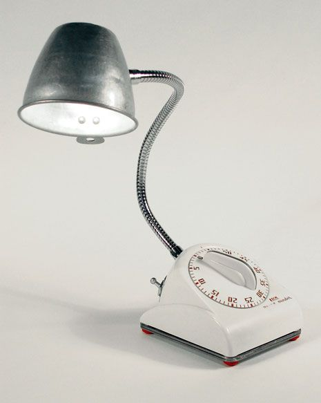 Nice Kitchen Timer And Measuring Cup Lamp. It Would Be Awesome If The Light Went  Out
