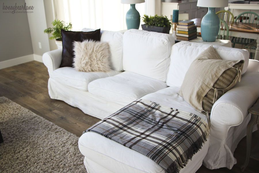 If You Live By An Ikea You Re Pretty Lucky Because They Make Some Great Stuff Which I Love And Share In Th Couch With Chaise White Ikea Couch Couch Styling