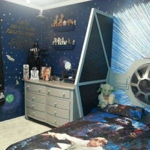 star wars bedroom ideas wallpaper and toys and bedding and amazing plane