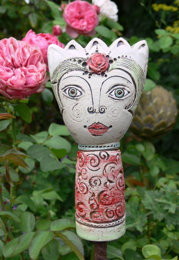 Gartenfiguren gartenkeramik pamina miniatur ein for Gartenfiguren aus keramik