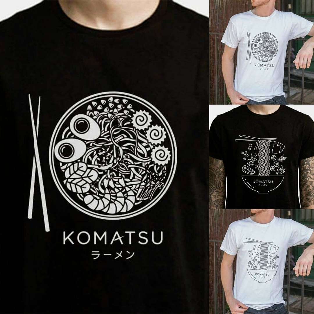 Komatsu Ramen has some rad new t-shirts! (Whoever designed them must be  pretty awesome) Hearsay is they may be for sale in the future! e2bfbb5488f33