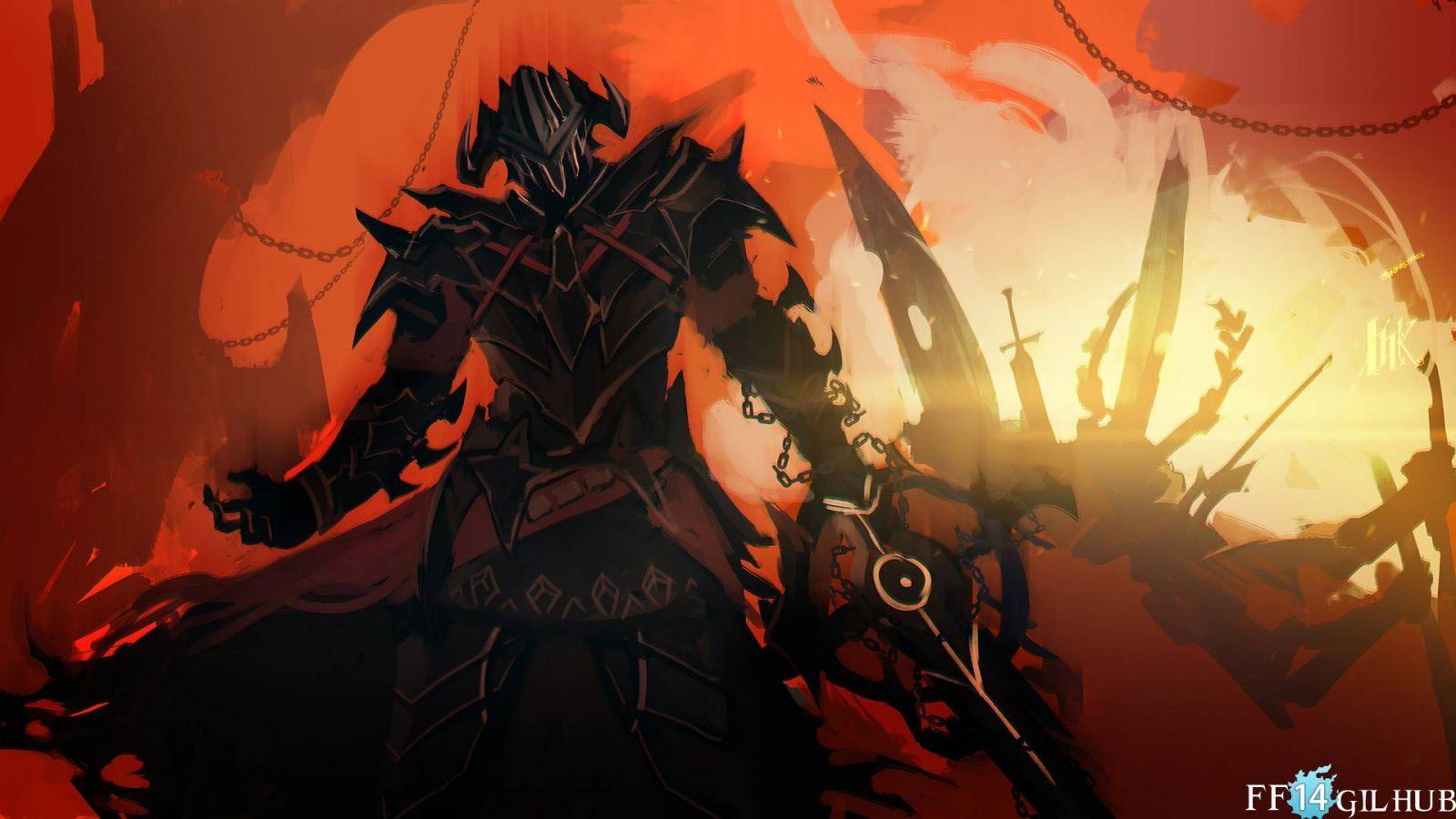 Ffxiv Dark Knight Final Fantasy Art Dark Knight Path Of