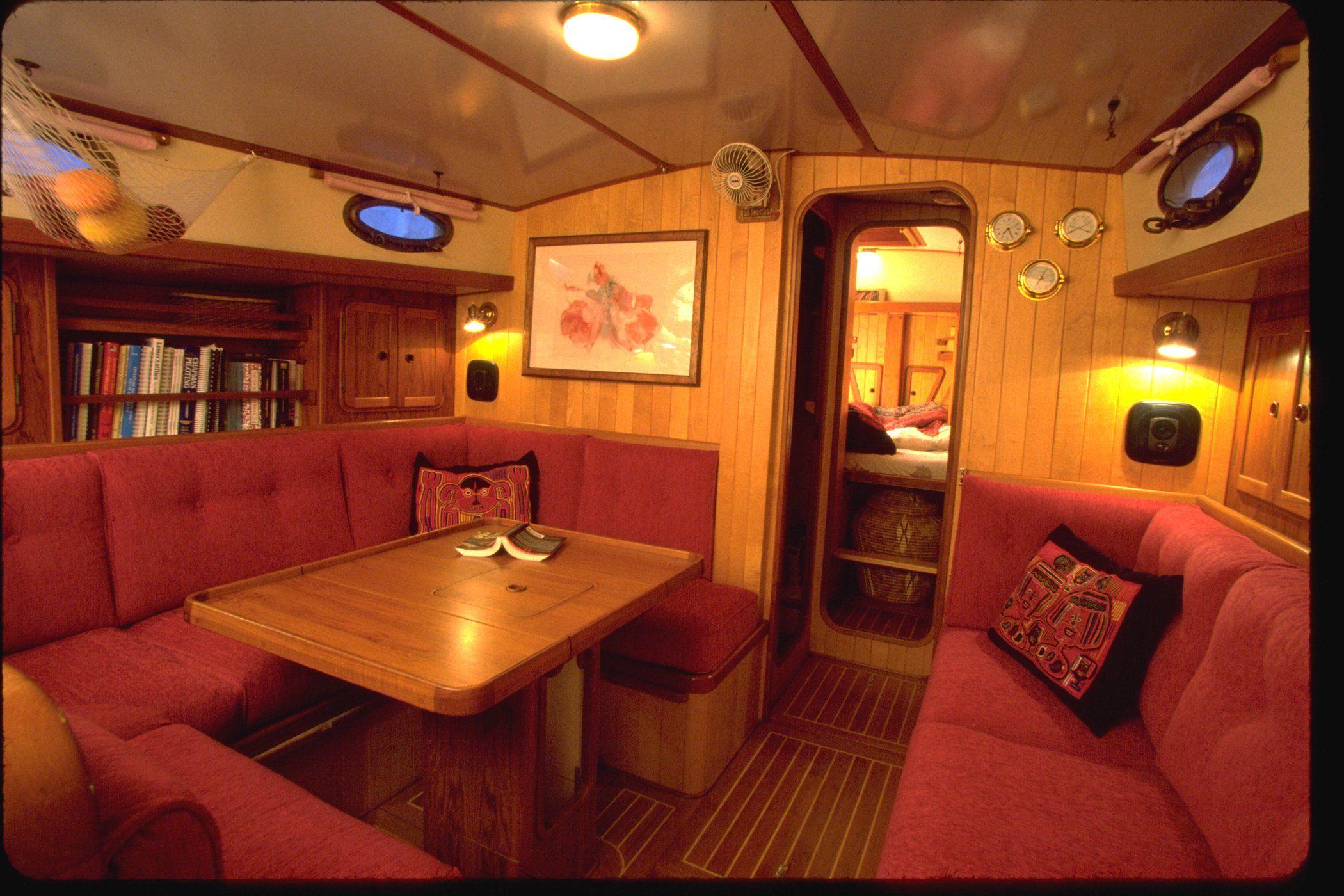 Boat Varnish Wood Interiors Need Tlc Too Boatus