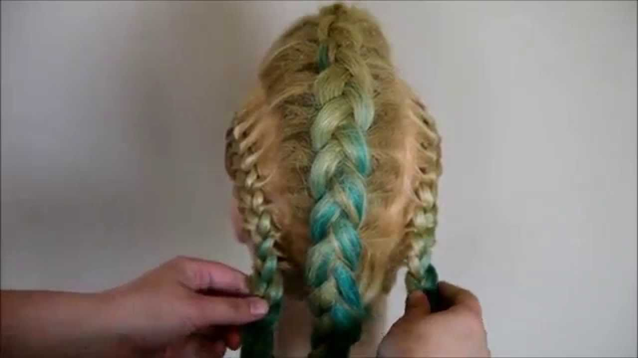 Mohawk braid tutorial braids pinterest braid tutorials