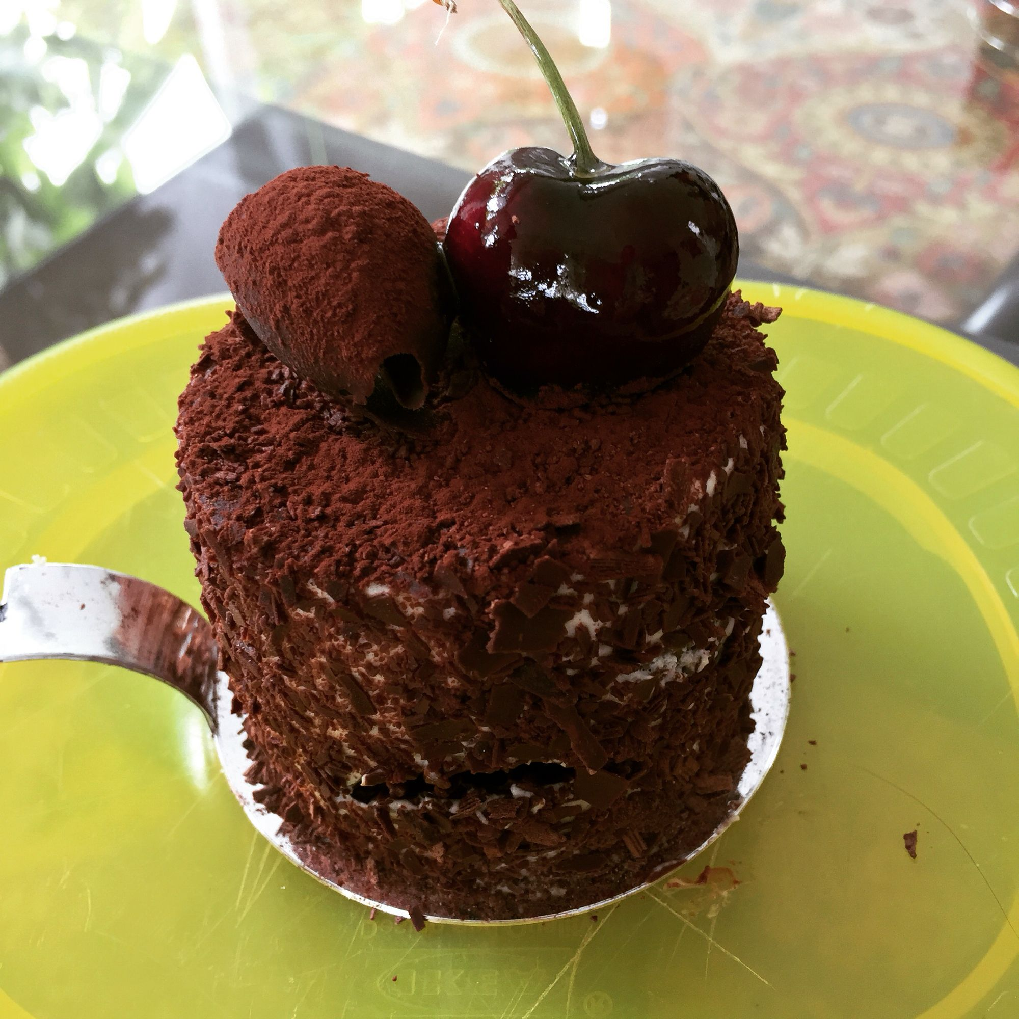 What It Means To Have The Cherry On Top Haveyourcakeandeatittoo Dolcetto Cake Cake Board Desserts