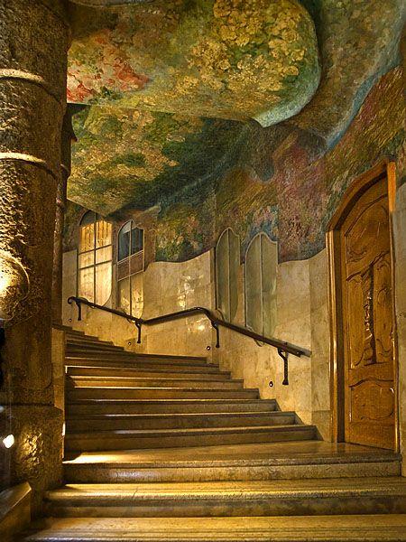 Antonio Gaudi ~ Casa Mila ~ Barcelona, Spain