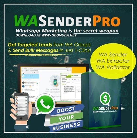 Wa Sender Pro V6 1 Full Version Latest Bulk Whatsapp Q Sender Wabi Virtual Number For Whatsapp Business Mod Apk Download Download Marketing Filter Pengikut