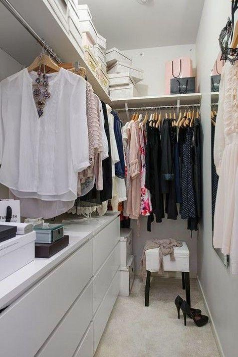 40 Ikea Malm Dresser Hacks Walk In Closet Design Closet Bedroom Walk In Closet Small