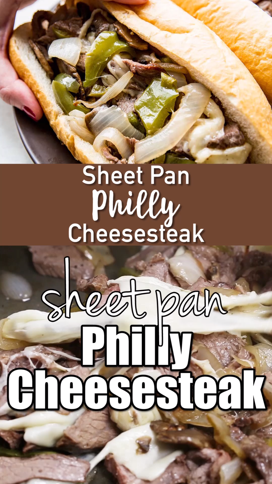 Sheet Pan Philly Cheesesteak