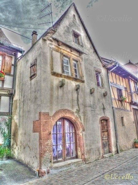 Renaissance house in Obernai