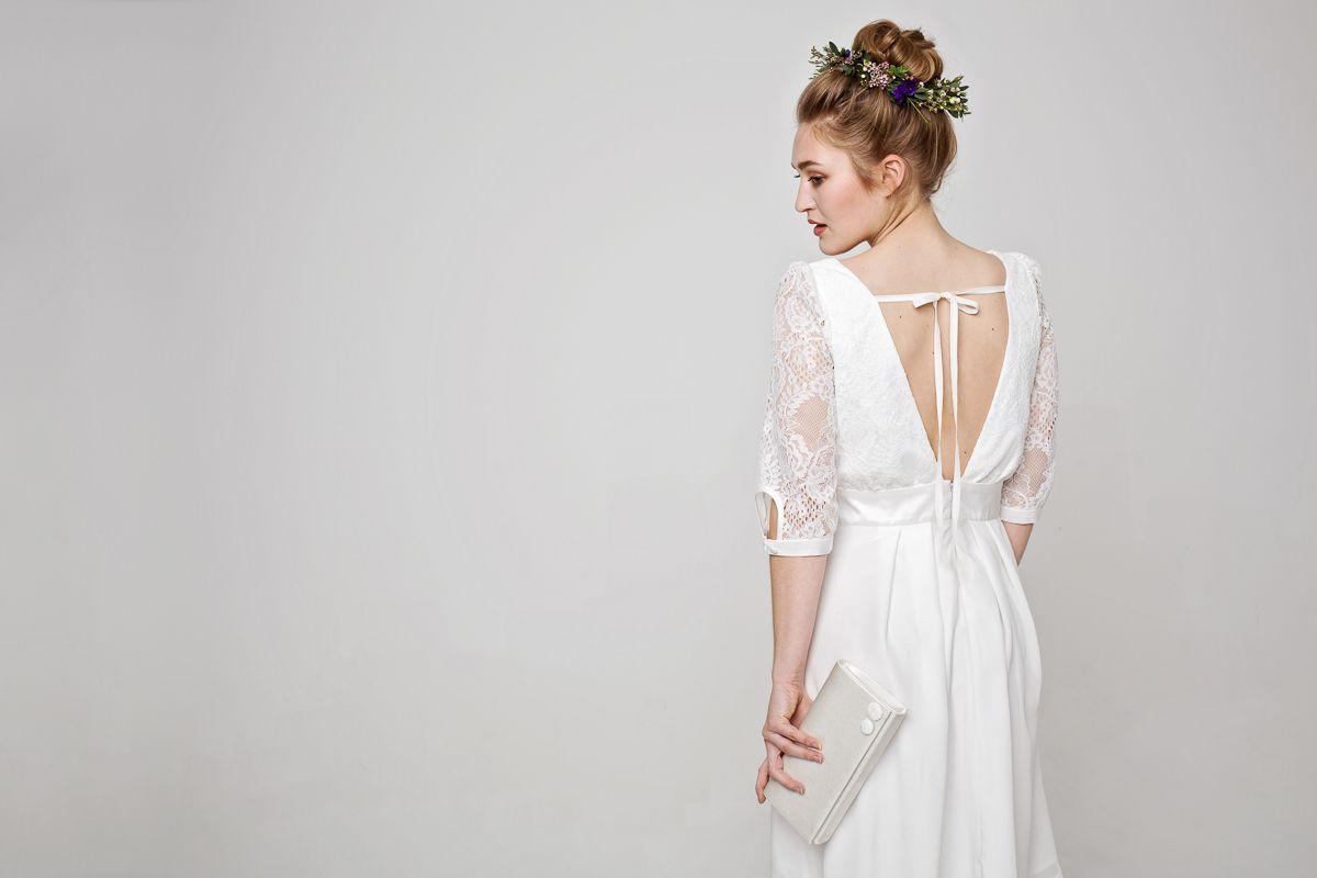 Labude Braut Couture Kollektion 2017 Brautkleid Aurélie - Kurzes ...