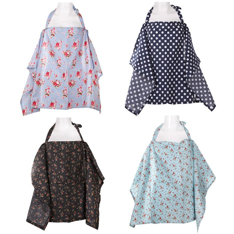 4 Color Cotton Breastfeeding Cover Nursing Covers Shawl Breast - nursing cover