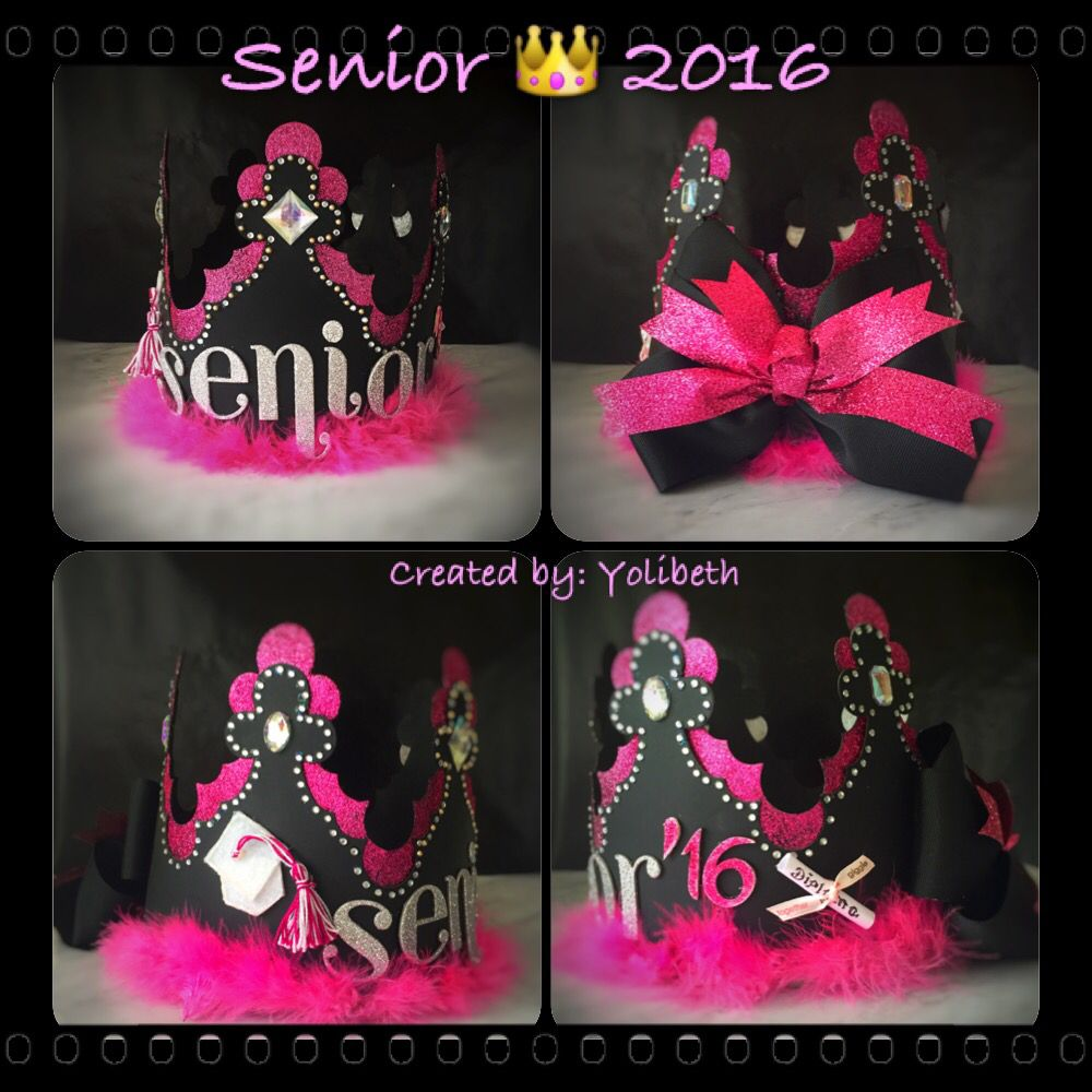 Diy senior crown 16 my creations and recreations pinterest diy senior crown 16 biocorpaavc Choice Image