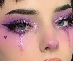Image about girl in makeup�� by smol on We Heart It