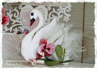 Sandra's Scrap Shop: # 59 Swan Pattern / Swan template