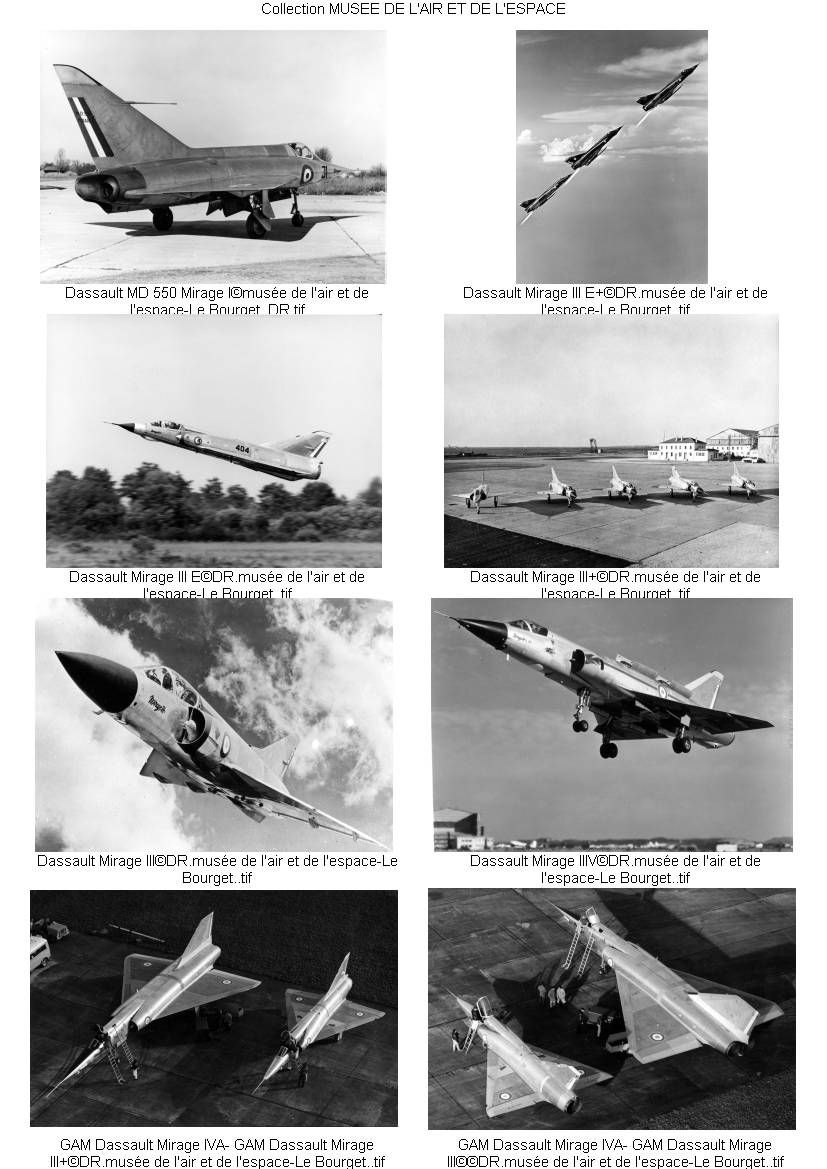 Contact sheet of the photos used in the book X Planes of