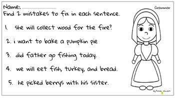 If you like this page, please leave feedback and look at my Thanksgiving themed Math and Grammar printables/games for grades 1, 2, 3. Thanks!