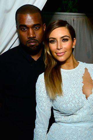 SÍ Y NO: Las parejas más hot del 2013 KIM KARDASHIAN Y KANYE WEST