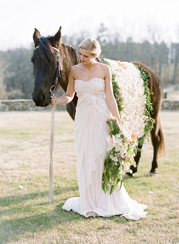 Hochzeitsidee 2014 Romantische Pferd Themen Hochzeit Rosa ...