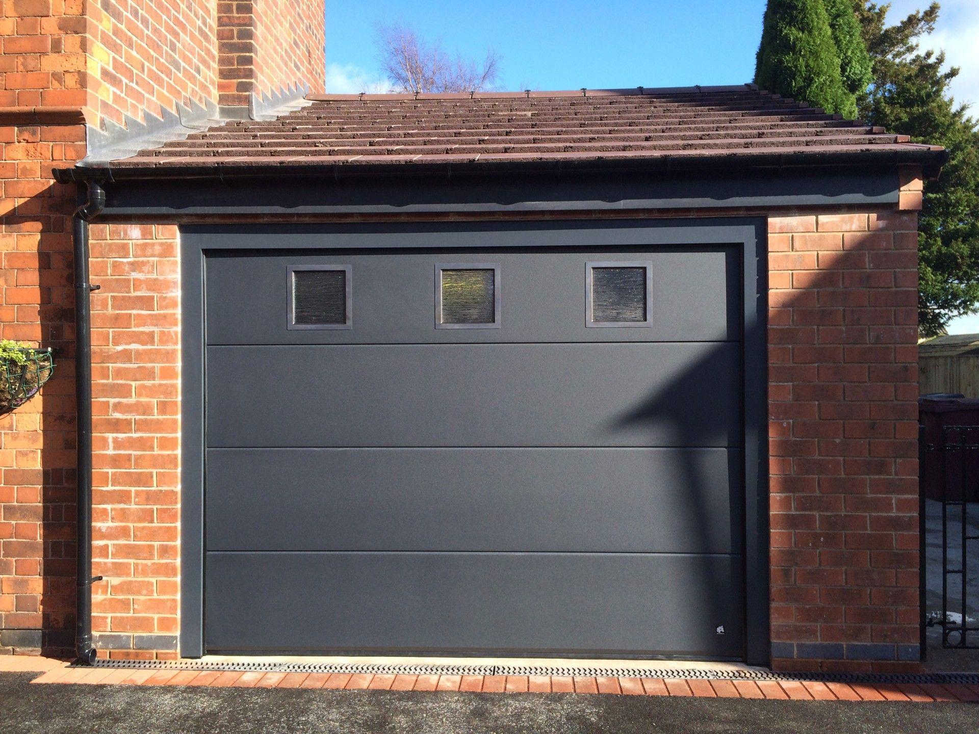 Garage door windows that open  Image result for s ribbed garage door with windows  Garage doors