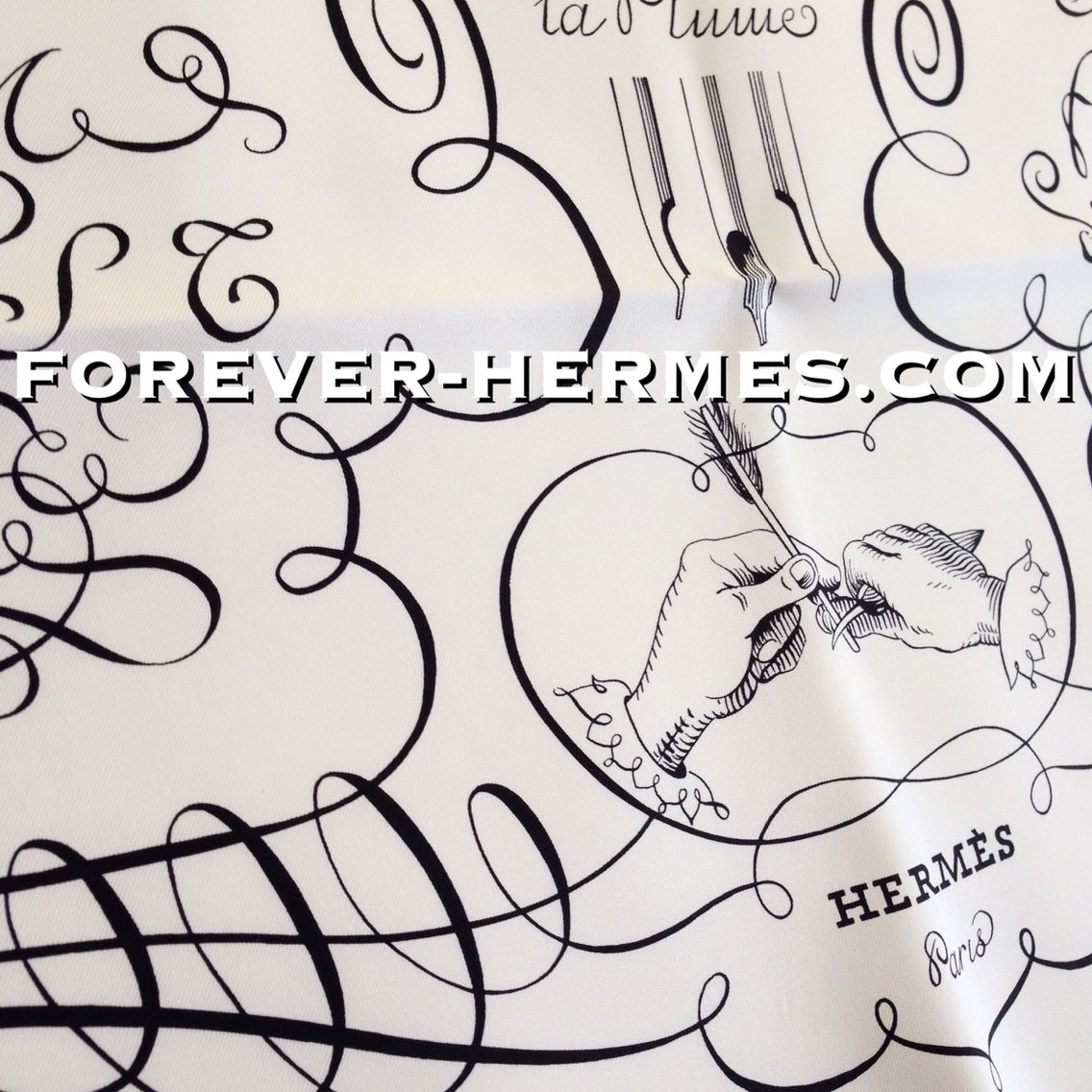 In our store http://forever-hermes.com #ForeverHermes this iconic Hermes Paris couture silk chiffon scarf titled L'Art D'Ecrire designed by Maurice Tranchant featuring the classic calligraphy styles, fonts, as well as a depiction of the correct body position that a #lady or #dapper #gentleman is supposed to keep while writing! #mensnecktie #mensfashion #menswear #mensstyle #womenswear #womensstyle #alphabet #antique #HermesParis #HermesCarre #Hermes #Paris