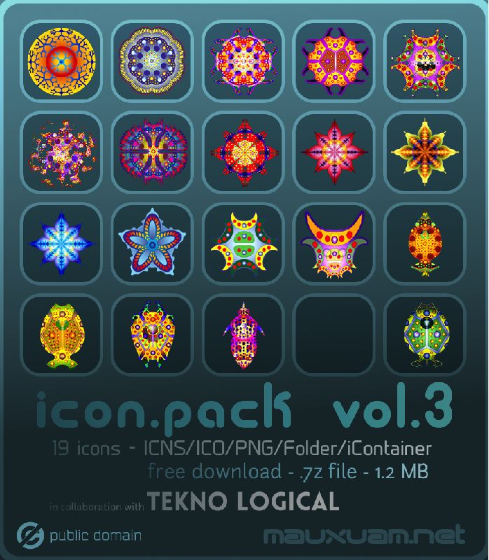 icon.pack vol.3 (TeknoHaekel) by