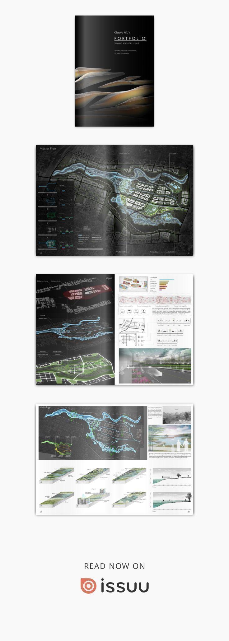 Landscape Architecture Portfolio 2016 Chaoyu Wu Chaoyu Wu Graduate